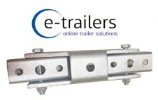 Trailer Brake Compensator for 4 cable tandem twin axle Knott Alko bowden system